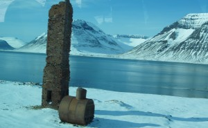 Beste Angelstelle fürs Angeln auf Meerforellen in Flateyri auf Island