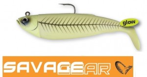 Savage Gear Cutbait Herring Green Glow