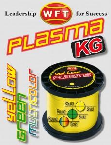 WFT KG PLASMA round -geflochtene Schnur zum Meeresangeln